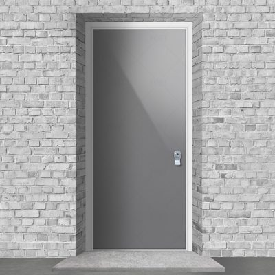 Plain Signal Grey Ral 7004 By Fort Security Doors Uk