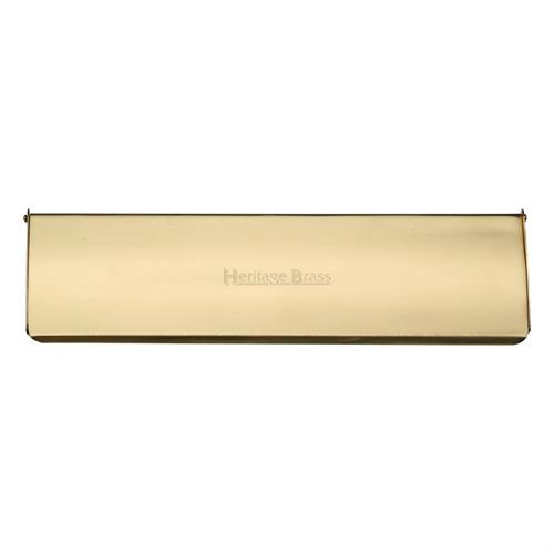 Interior Letterflap Polished Brass