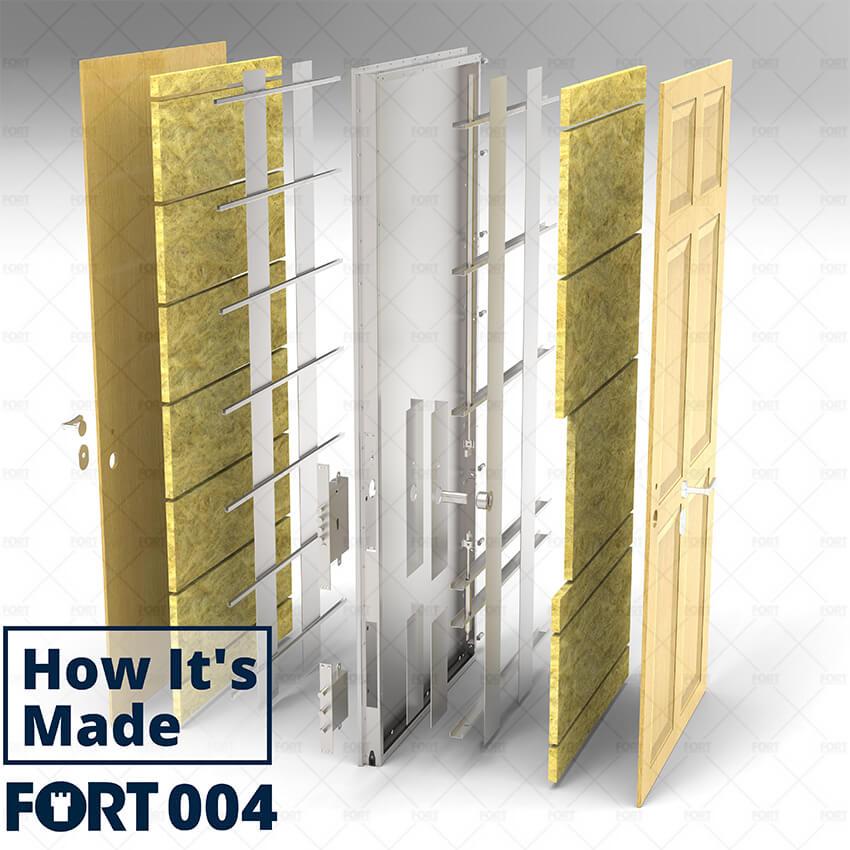 Fort security doors constructon
